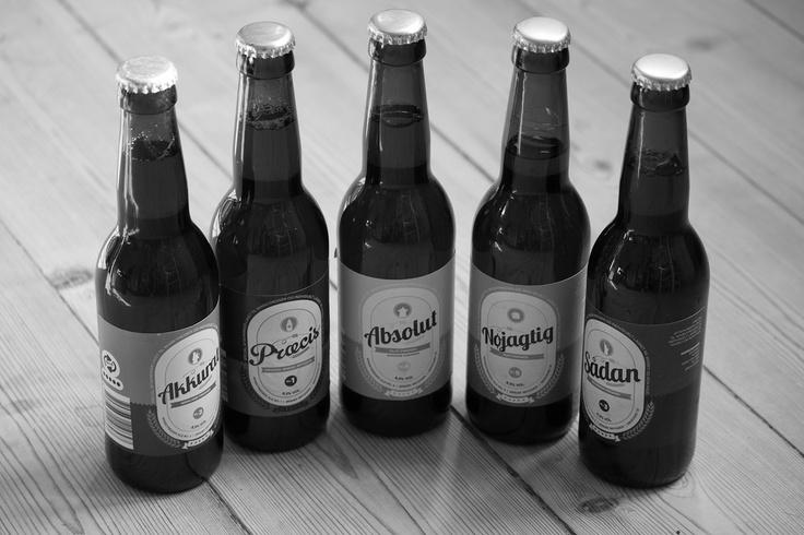 """På Whiskymessen præsenterede Ørbæk  en række fadlagrede øl. Især den røgede """"Absolut"""", der var lagret på et Islayfad, som berigede øllen med røgnoter var fremragende."""