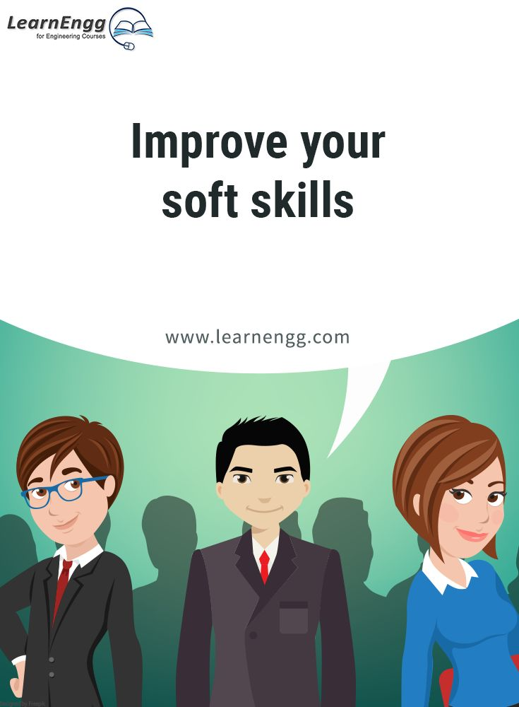 "Improve your soft skills. To know more, read our blog post ""How to Increase Your Employability: Tips for Engineering students"" [Click on the image] ‪#learnengg‬ ‪#engineering‬ ‬#skills"