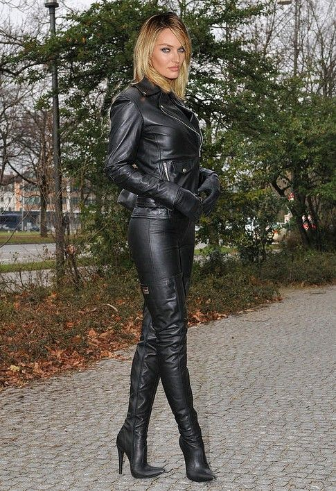 I don't always wear pants, but when I do, I always wear high heels!
