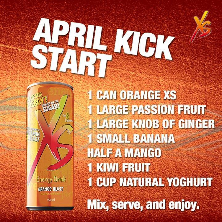 14 best images about XS Energy Drinks and Recipes on Pinterest ...