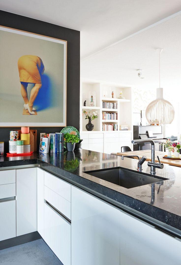 Painting in the kitchen | Styling Femke Dekker-ter Meulen | Photographer James Stokes | vtwonen August 2015