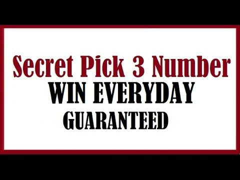 Secret Pick 3 Lottery Numbers to win Everyday 2017 (Guaranteed) - (More info on: https://1-W-W.COM/lottery/secret-pick-3-lottery-numbers-to-win-everyday-2017-guaranteed/)