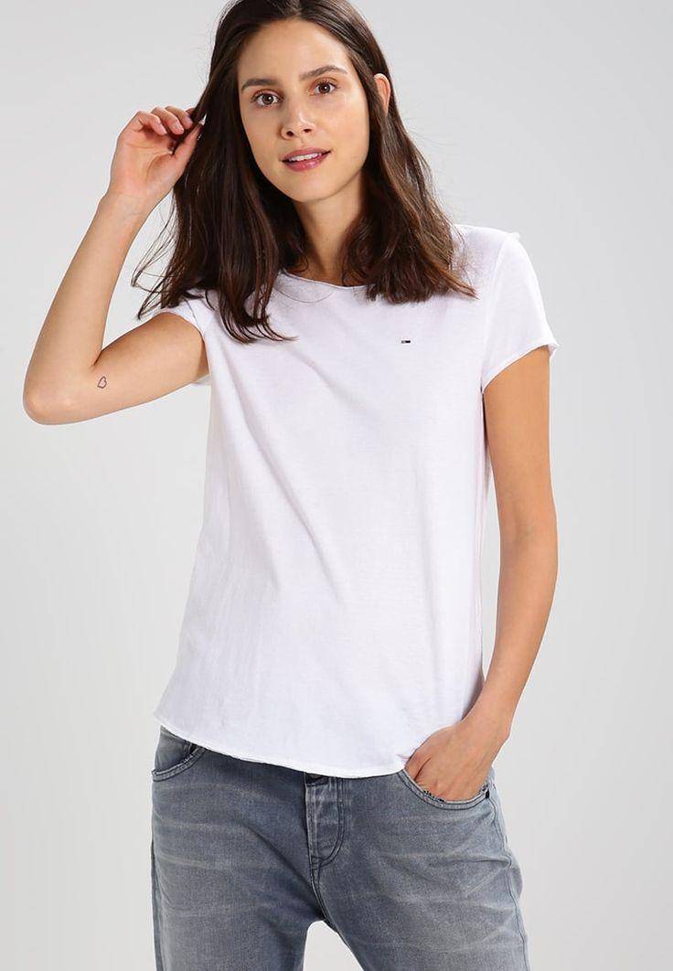 Hilfiger Denim T-Shirt basic - white für 29,95 € (29.09.17) versandkostenfrei bei Zalando bestellen.