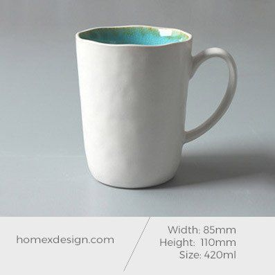 Ceramic M sized coffee cup (set of 5)