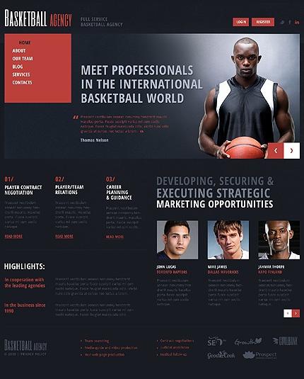 Basketball Joomla Template #agency #sport #website http://www.templatemonster.com/joomla-templates/44591.html?utm_source=pinterest&utm_medium=timeline&utm_campaign=bask