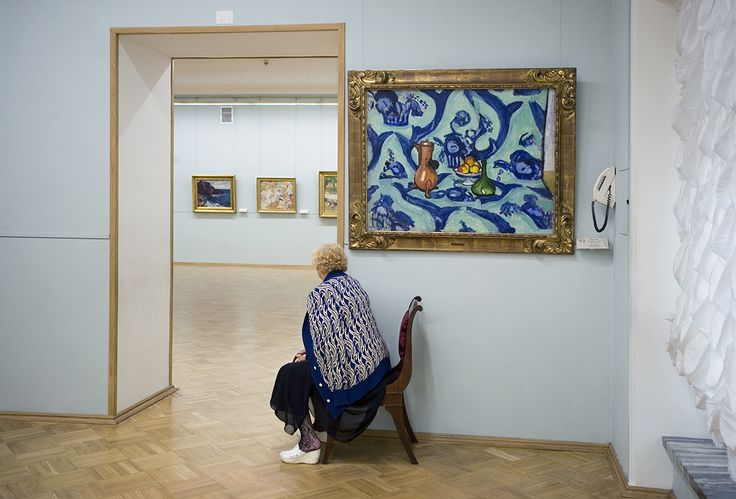 Henri Matisse's Still Life with Blue Tablecloth, State Hermitage Museum, 2008