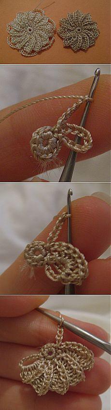 вязание крючком.