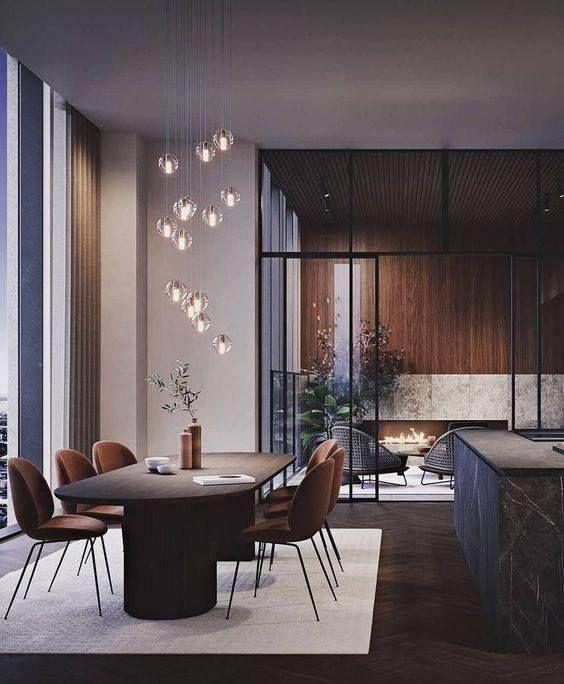 GUBI: Irresistible penthouse interior at Karlatornet in Gothenburg, Sweden, featuring … – Contemporary Designers Furniture
