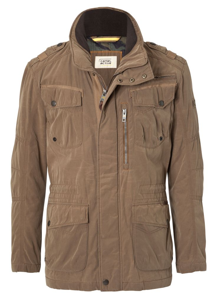 Men's Coat from camel active engineered with GORE-TEX® products