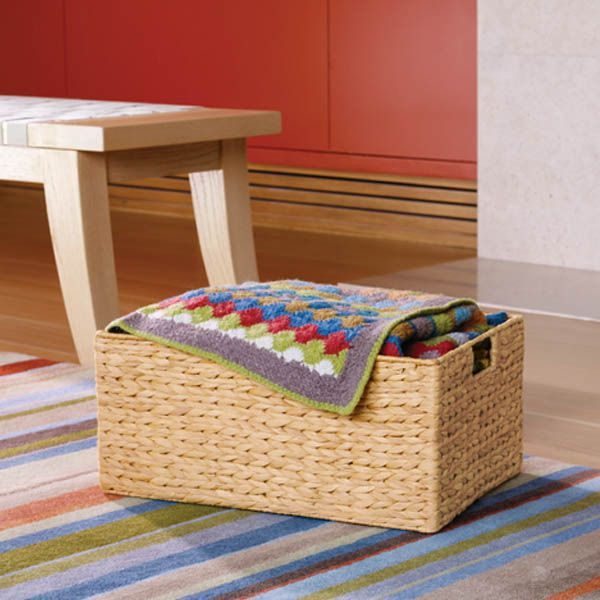 From The Container Store · Our Water Hyacinth Bins Offer An Attractive  Option For Storage Of A Variety Of Items Around