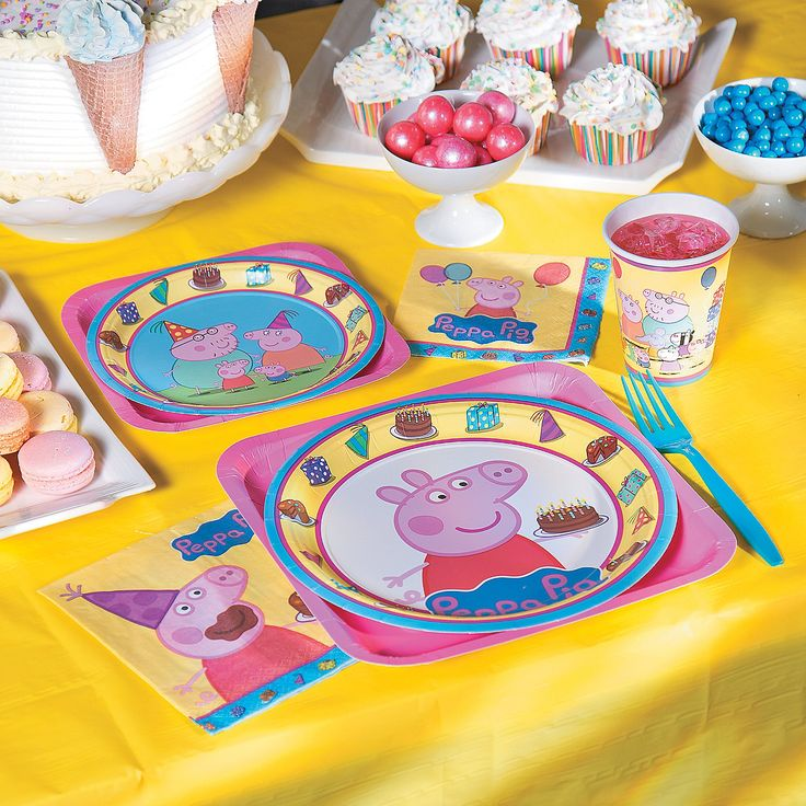 Peppa+Pig™+Party+Supplies+-+OrientalTrading.com