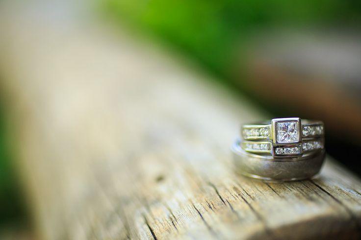 Wedding ring shot.