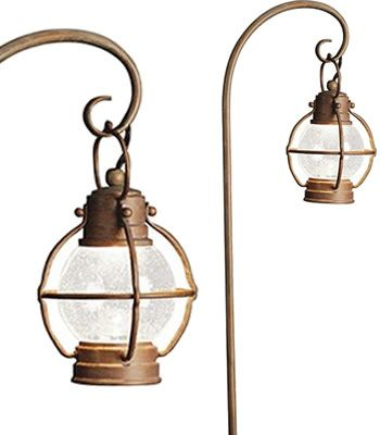 Kichler 15334OB Concord 1-Lt 12V Onion Path and Spread Light - Add a nautical touch to your landscaping with onion light inspired path lighting. A quintessential American style with over 100 years of history, this form began as lighting on fishing boats.  Beach & Nautical Style Landscape Lighting - Low Voltage and Line Voltage - Brand Lighting Discount Lighting - Call Brand Lighting Sales 800-585-1285 to ask for your best price!