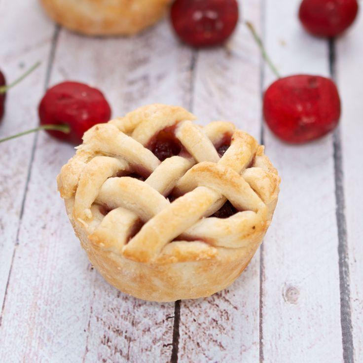 Mini Cherry Pies {Sweet Pea's Kitchen}