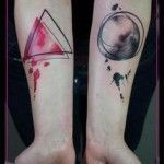 Best Geometric Tattoo - Triangle Tattoo Meaning
