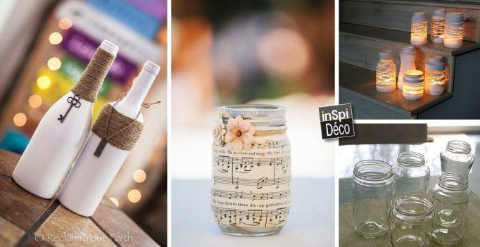 Voici 20 idées pour recycler des objets en verre! Laissez-nous vous inspirer…