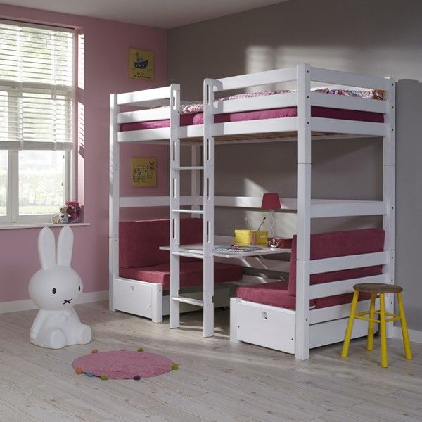 25 beste idee n over tiener hoogslapers op pinterest tiener loft slaapkamers meisjes loft - Midden kamer trap ...