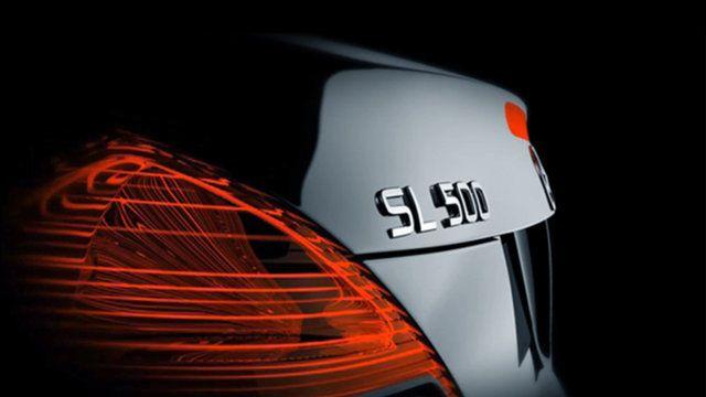 Mercedes SL 500 30 sec. Product Ident