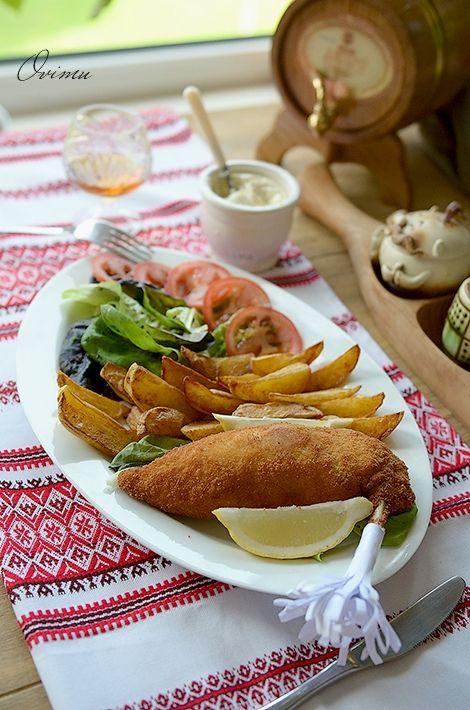 Украинская кухня. Котлеты по-киевски. - Foodclub — кулинарные рецепты с пошаговыми фотографиями