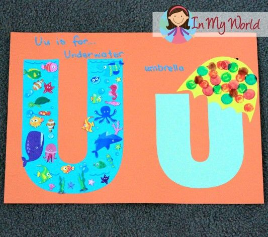 47 best letter u activities images on pinterest preschool letters preschool letter u spiritdancerdesigns Gallery