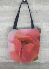 Salmon Pink tote: What a beautiful product!