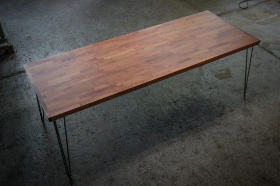 LARGE BANQUET TABLE Cherry Wood Dining Table by HardmanDesignBuild