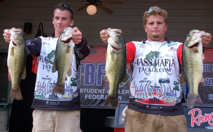 15 best tbf the bass federation highschool fishing world for Local bass fishing clubs