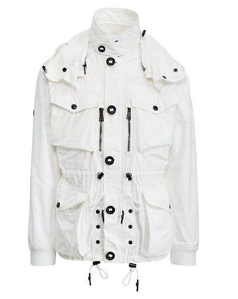 Polo Ralph Lauren - Veste utilitaire à capuche en sergé