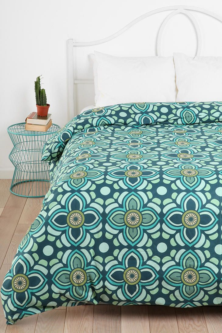 Magical Thinking Lotus Medallion Duvet Cover Online Only New Sizes Available