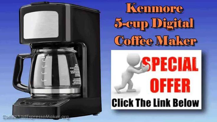 Coffee Maker Reviews - Kenmore 5 cup Digital Coffee Maker