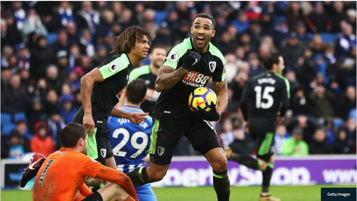 BRIGHTON AND HOVE ALBION 2 BOURNEMOUTH 2: WILSON GROUNDS SEAGULLS IN PULSATING CLASH Bournemouth twice came from behind to seal a 2-2 draw against Brighton and Hove Albion thanks to Callum Wilson and Steve Cook. www.royalewins.net
