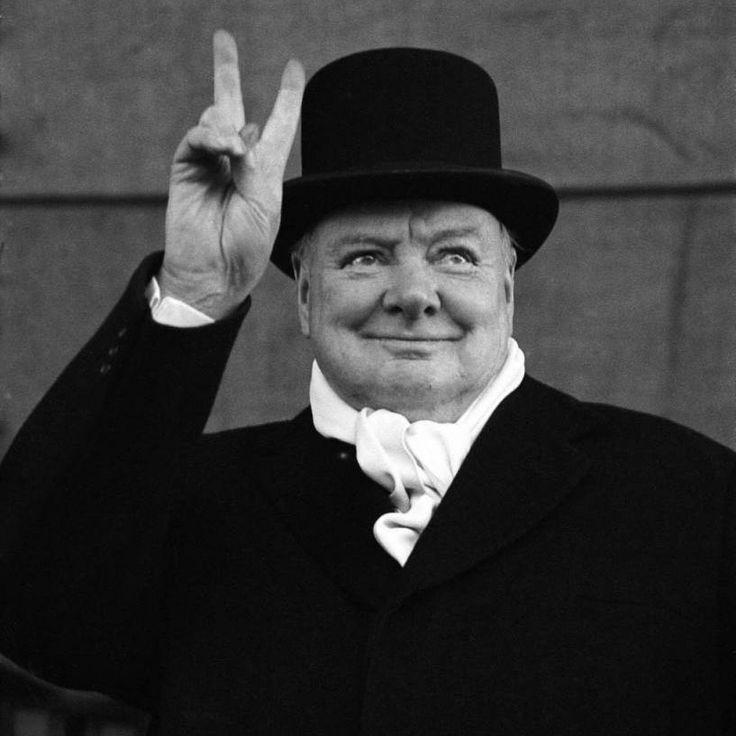 Winston Churchill Victory Quote: Winston Churchill & British