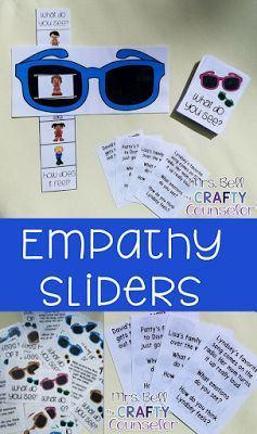 The Crafty Counselor: Emotions Sliders (Empathy Builders)