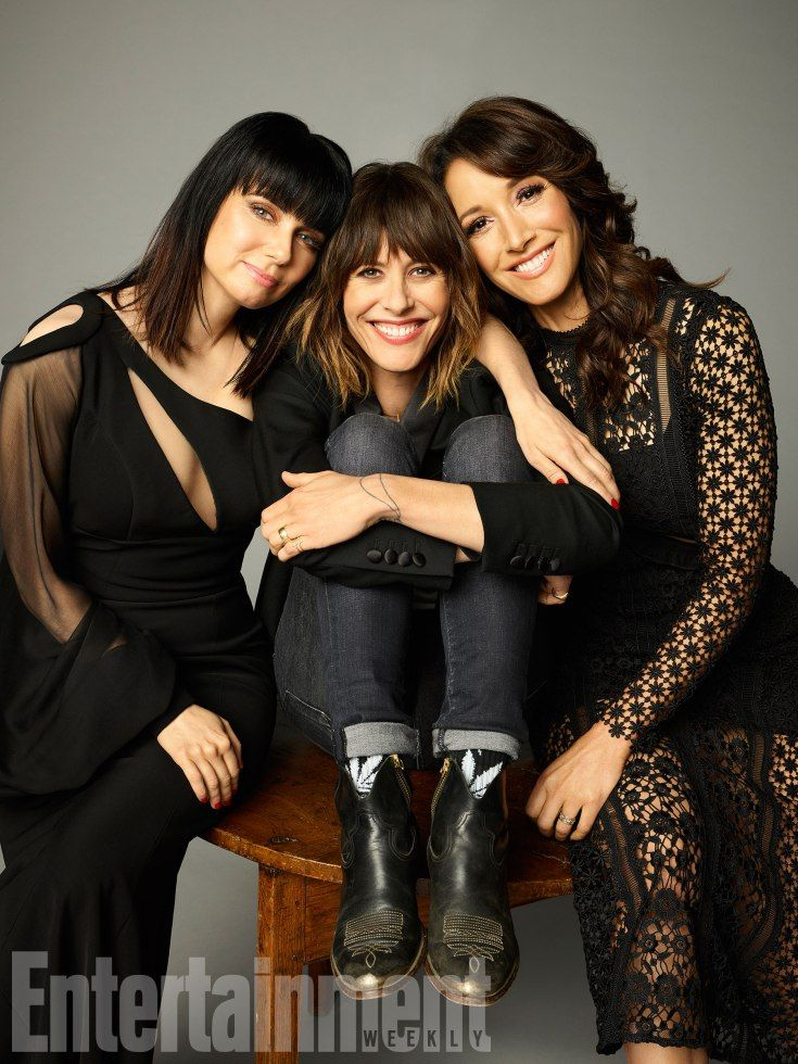 Mia Kirshner, Katherine Moennig, and Jennifer Beals