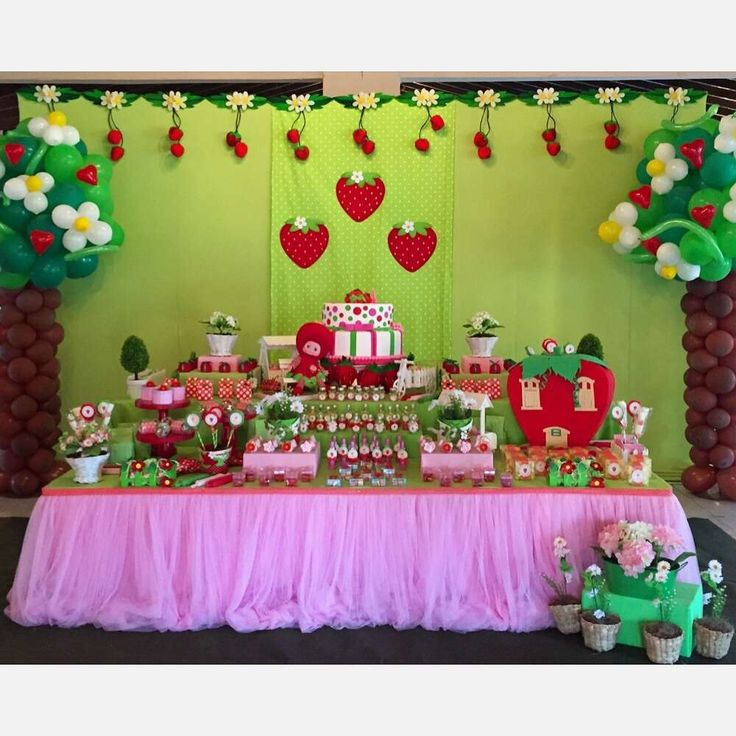 226 Best Images About @ Strawberry Shortcake Party On Pinterest
