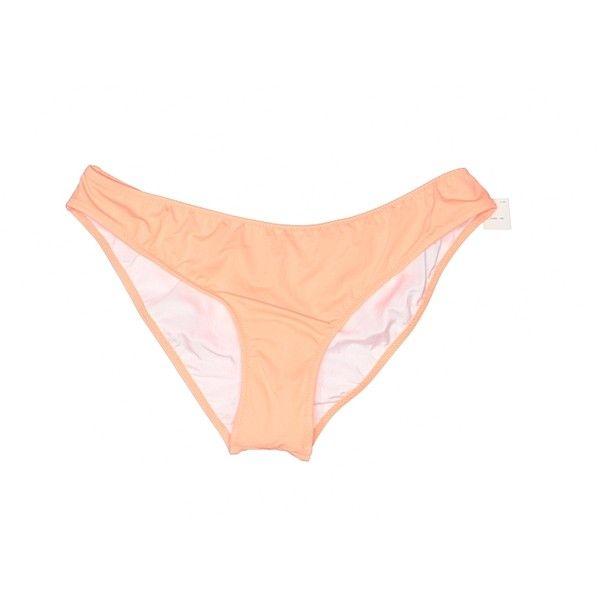 Victoria's Secret Pink Swimsuit Bottoms (210 ARS) ❤ liked on Polyvore featuring swimwear, bikinis, bikini bottoms, orange, bathing suits two piece, swimming costume, orange bikini, bathing suits bikini and orange bathing suit