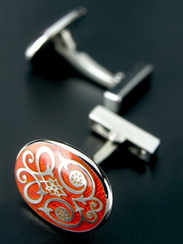 Handmade silver cufflinks by Codis Maya
