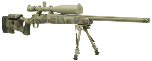 Remington 700 in 300 WinMag. Customized for long range shooting. Planning to build one in the future.