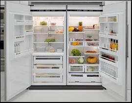 viking refrigerator inside. full size freezer beside fridge. viking refrigeratorrefrigerator refrigerator inside