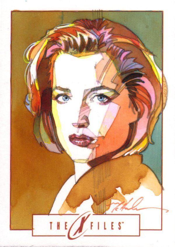 Dana Scully by Mark McHaley on DeviantArt
