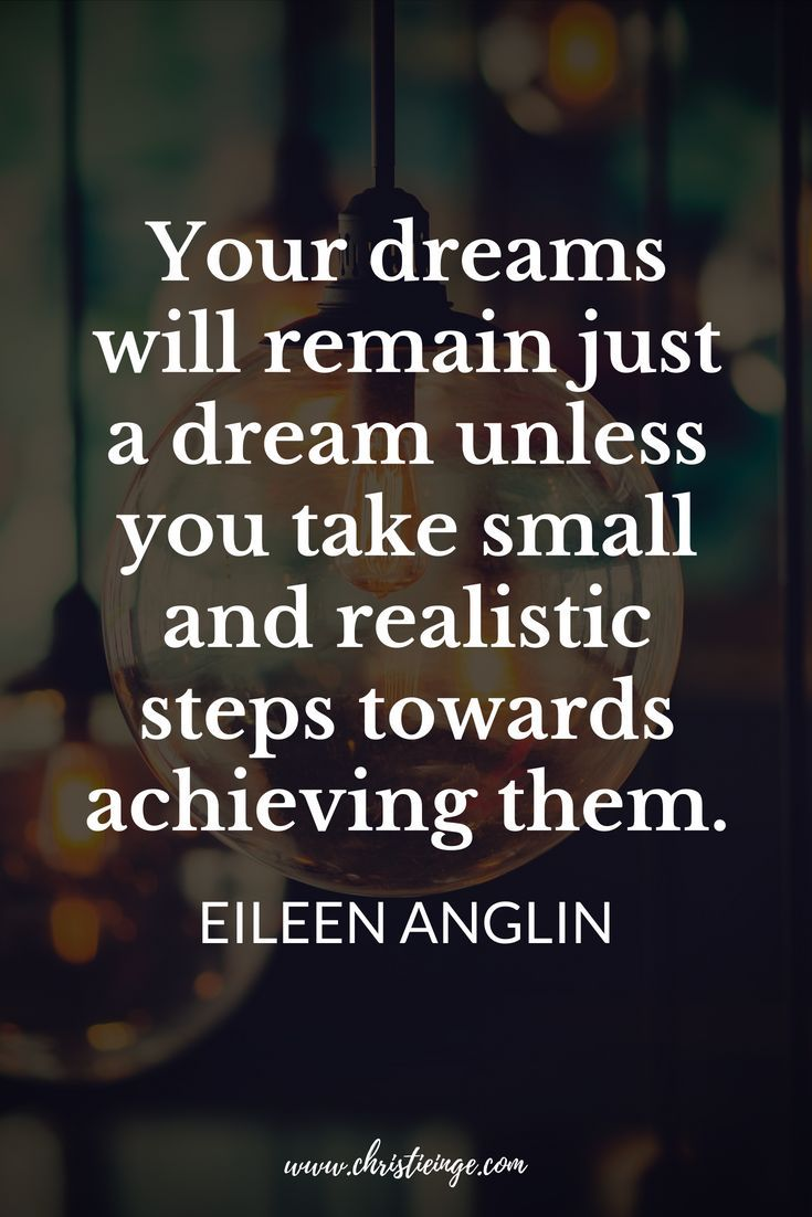 Living Your Dreams Quotes