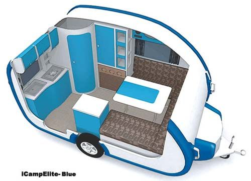 small travel trailers ultralight | iCamp Elite small travel trailer review with readers comments