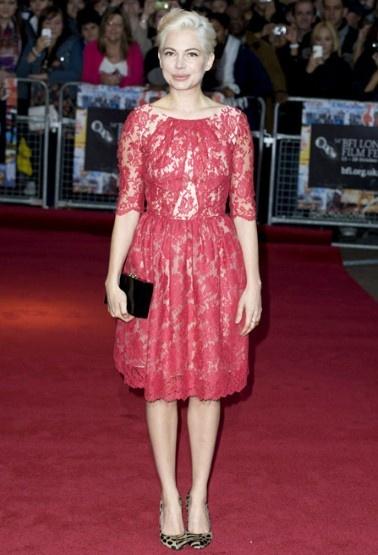 Ladylike fashion on Michelle Wiliams