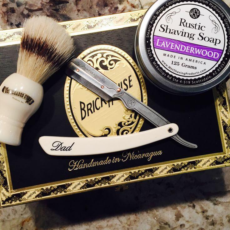 Groomsmen Gift Set of 6 Straight Razor shaving kit, shave brush, soap 5 blades. Personalized groomsmen gift, Groomsmen Gift, Groom, Best Man by KCShaveCo on Etsy https://www.etsy.com/listing/276467762/groomsmen-gift-set-of-6-straight-razor  #groomsmengift #wedding #bestman