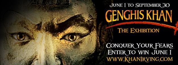 Genghis Khan exhibit in Irving