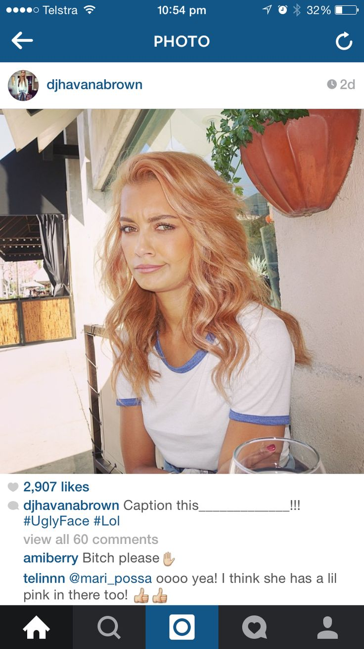 Havana Brown Hair Peach Strawberry Blonde With Images
