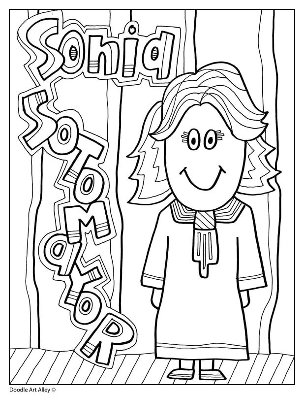 Free Coloring Pages For Hispanic Heritage Month Pics