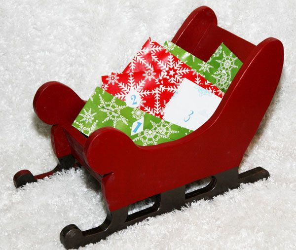 Santa Sleigh Woodworking Plans - WoodWorking Projects & Plans