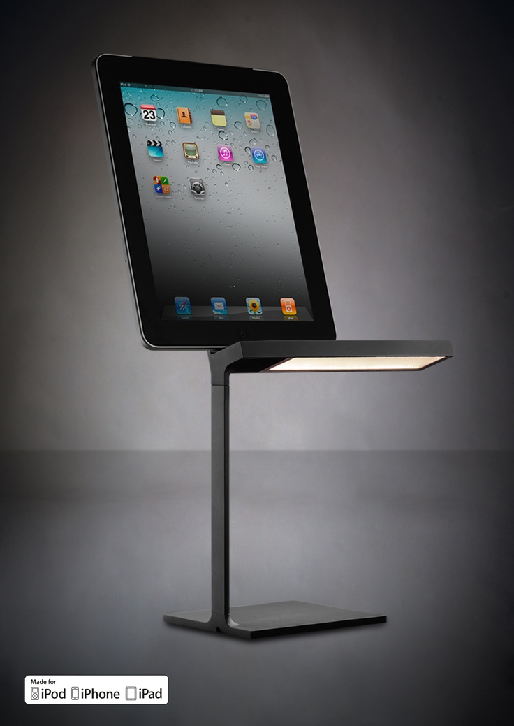 The Du0027E Light LED Table Lamp By Phillipe Starck Combines Device Charging,  Illumination, And Good Design.