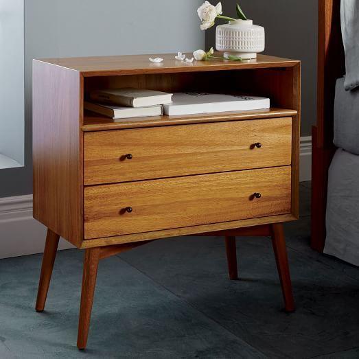 Best Mid Century Nightstand Grand West Elm 399 Furniture 400 x 300